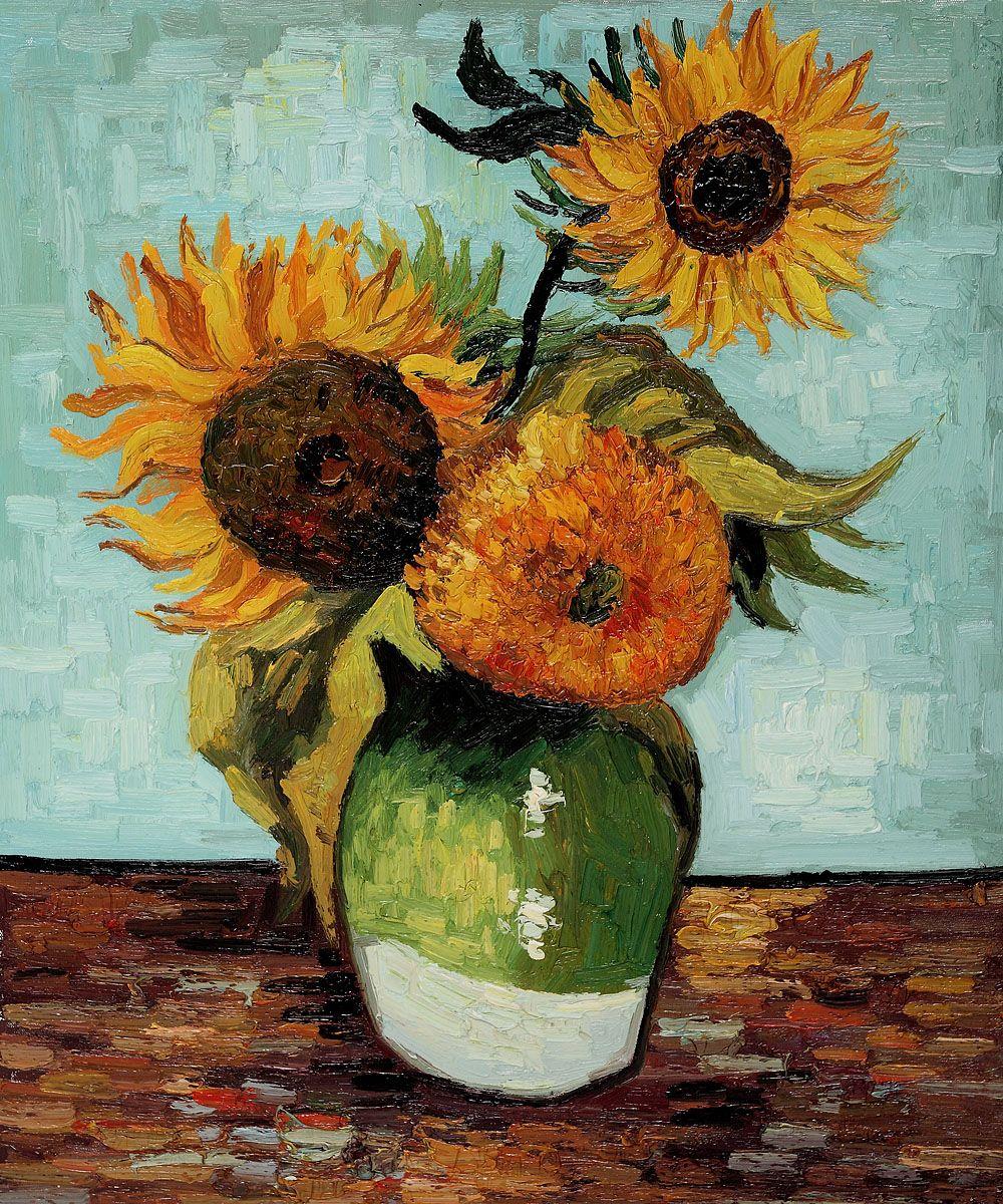 Más De 25 Ideas Increíbles Sobre Girasoles De Van Gogh En