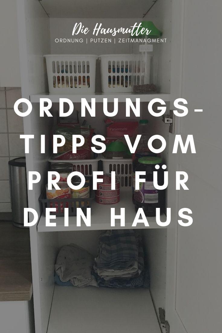 Ordnungs-Tipps für Hausbewohner - Die Hausmutter #wäschesortierenideen