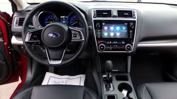 2018 Subaru Legacy 2 5i Limited black leather interior