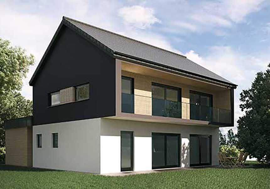R alisations construction maison ossature bois alsace for Constructeur maison belge