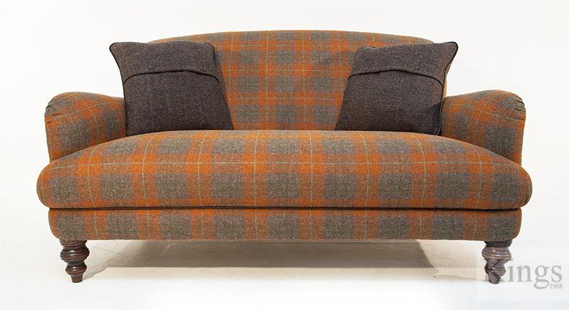 Nice Tetrad Harris Tweed Braemar Petit Sofa 1