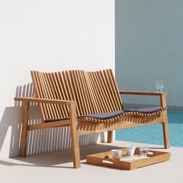 Cane Line Amaze Chair Cane Line Wooden Outdoor Bench Outdoor Furniture Design Outdoor Furniture Diy Patio Furniture