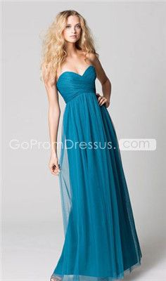 bridesmaid dresses. Tea Length? maybe a different color?