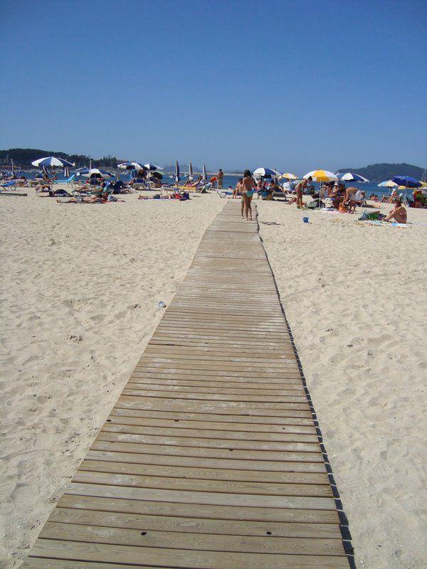 Playa América - Baiona - Galízia . Spain
