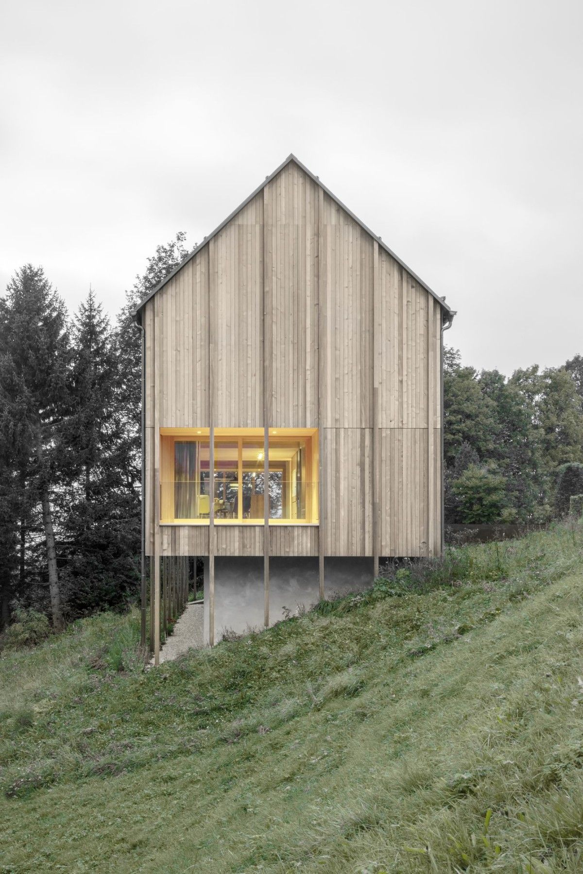 house in wald stürcher ~ bernardo bader architekten | photos ...