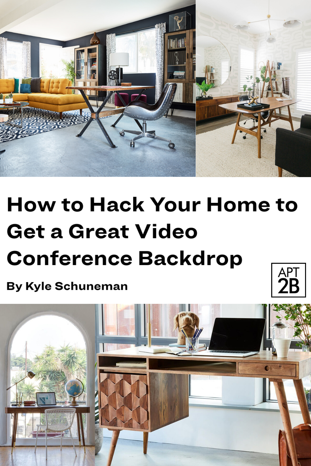 How To Hack Your Home To Get A Great Video Conference Backdrop In 2020 Zoom Conference Call Home Backdrops