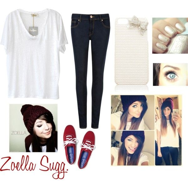 """Inspired By Zoella: """"How To Dress Like Zoella Sugg."""" By Mallylovesyou On"""