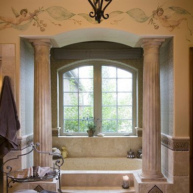 Bathroom Columns Design, Pictures, Remodel, Decor and Ideas
