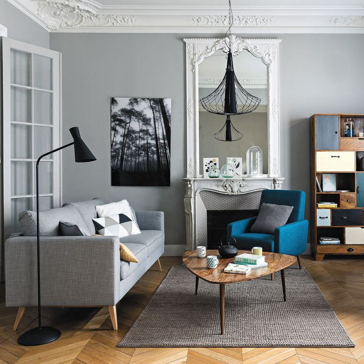 Muebles Y Decoración De Estilo Vintage Y Retro | Maisons Du Monde. Living  Room Decor Grey ...