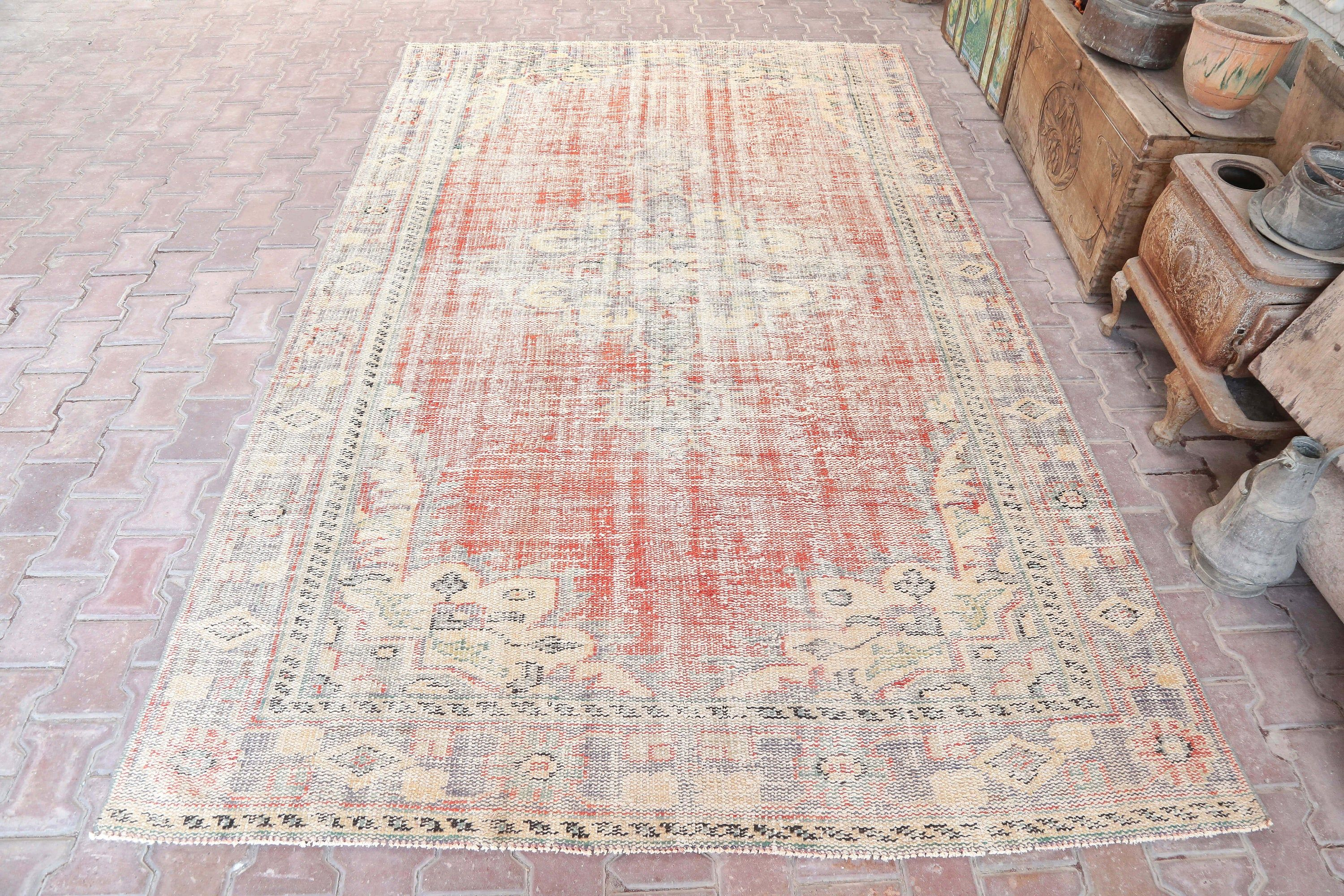 6x9 9 Rugvintage Ruganatolian Rugdecorative Rugover Etsy Rugs Rugs On Carpet Vintage Area Rugs