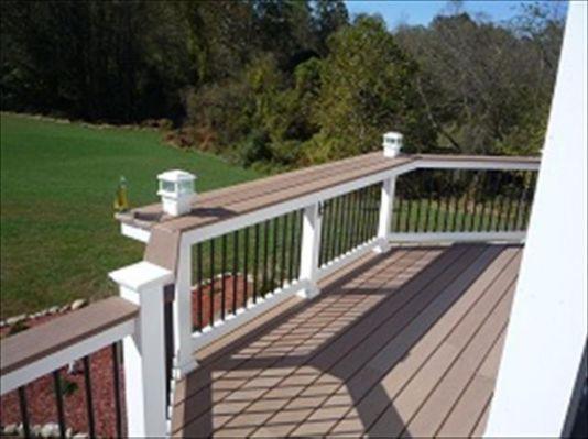 Deck Railing Bar Top Decks Backyard Deck Bar Deck Railings