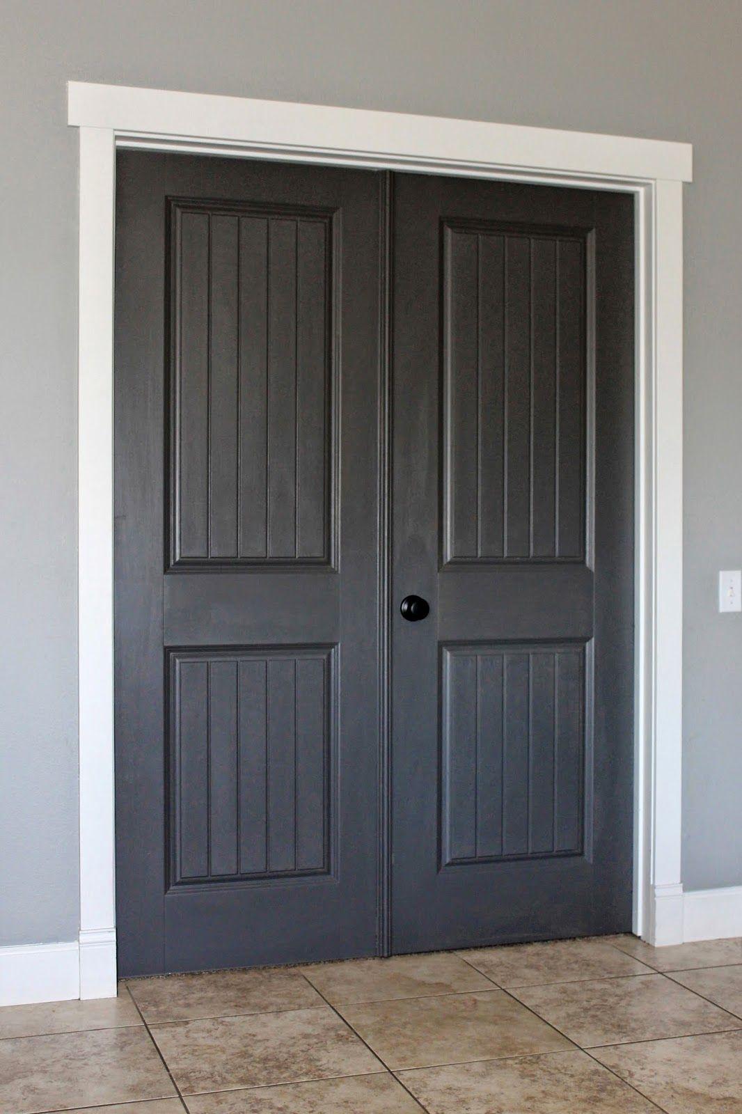 White Trim Dark Paint Why I M Going Dark With My Doors