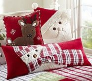 Twas the Night Before Christmas Flannel Standard Sham