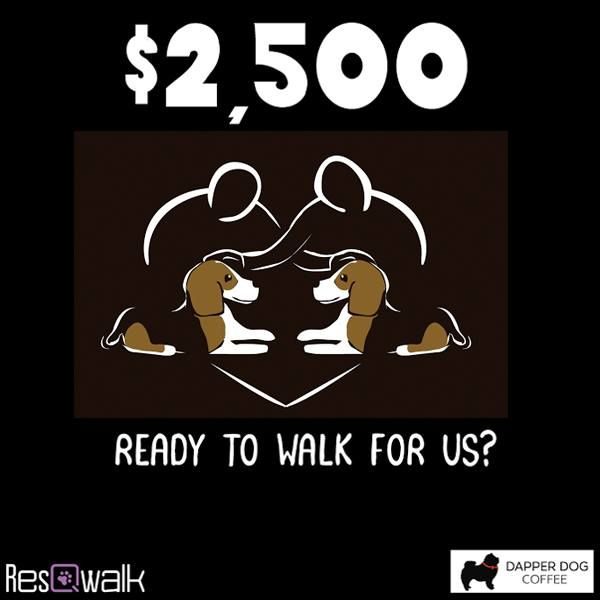 There is $2,500.00 available this week, and we need YOU to walk or run for us using the ResQwalk app available at http://www.resqwalk.com  -thank you!!!