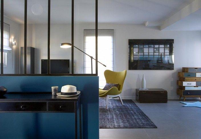 3 caroline desert decoratrice entree verriere bleu canard. Black Bedroom Furniture Sets. Home Design Ideas