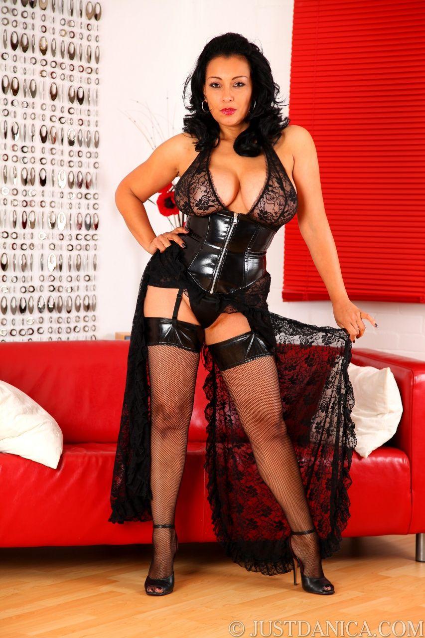 Danica Collins Donna Ambrose Danica Collins Sexy Women Dominatrix See Through
