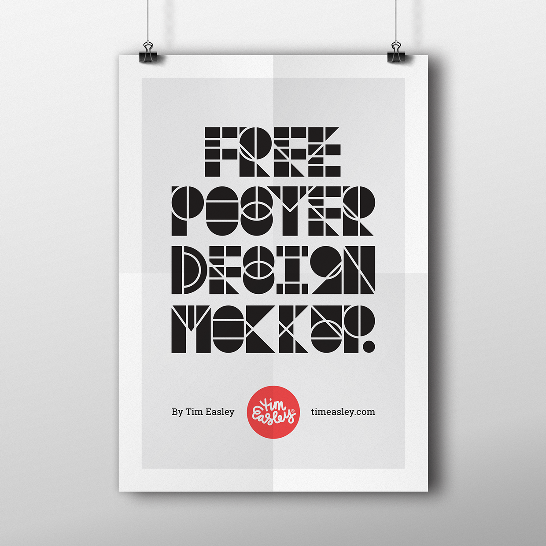 Free Poster Design Mockup On Behance Poster Mockup Psd Poster Mockup Design Mockup Free
