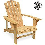 Songsen Outdoor Log Wood Adirondack Lounge Chair Patio Deck Garden Furniture Natural Wooden Outdoor Furniture Outdoor Chaise Lounge Chair Outdoor Dining Set