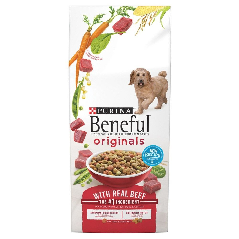 Purina Beneful Originals Real Beef Dry Dog Food 15 5lbs Dog