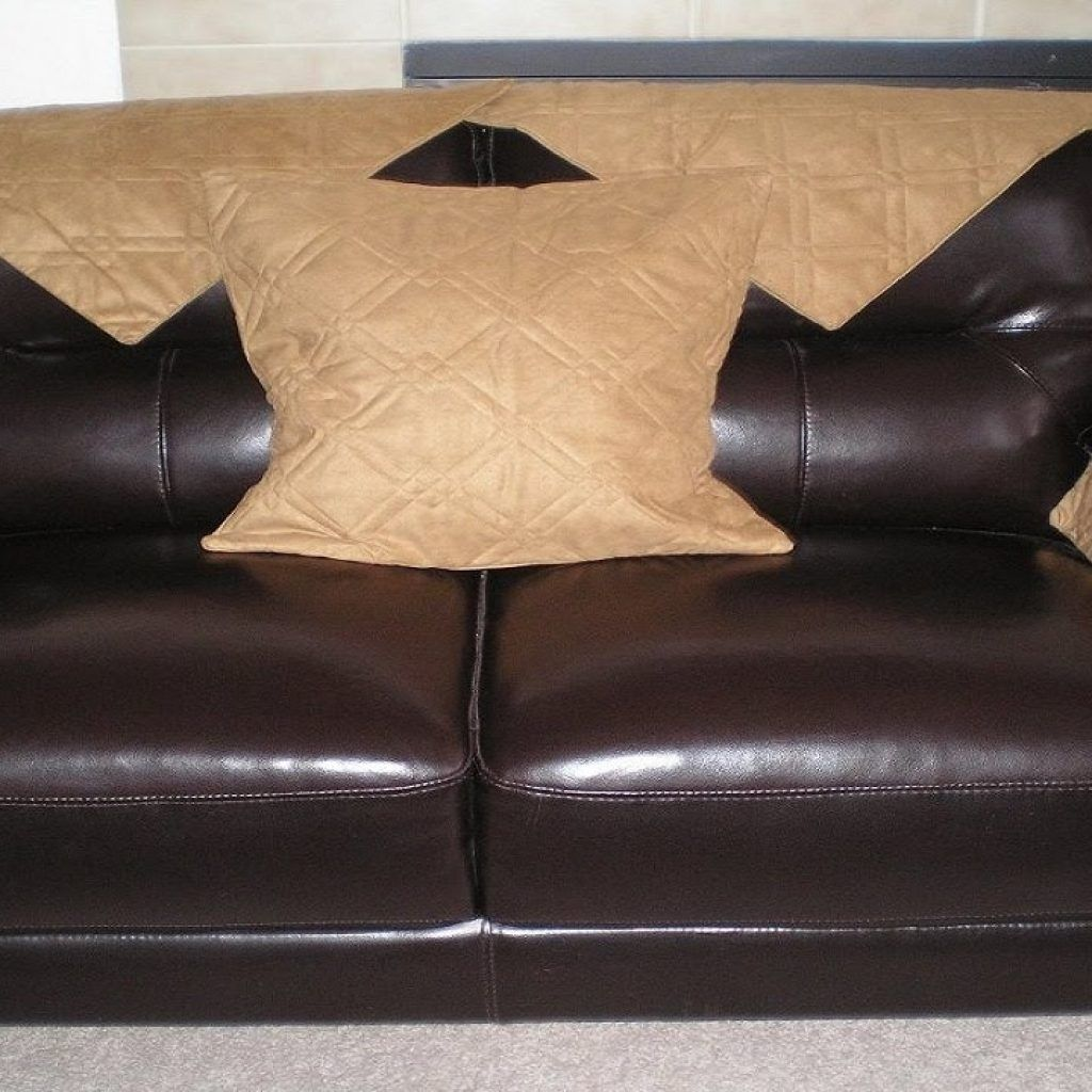 Delicieux Black Leather Sofa Seat Covers