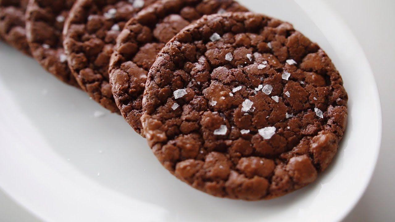 كوكيز براوني Brownie Cookies Chocolate Chip Recipes Desserts Food