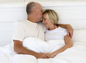 Older Couple Kissing In Bed Couple Kiss In Bed Kissing Couples