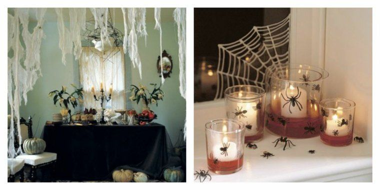 d coration halloween maison en plus de 50 id es simples d co halloween int rieur maison et. Black Bedroom Furniture Sets. Home Design Ideas