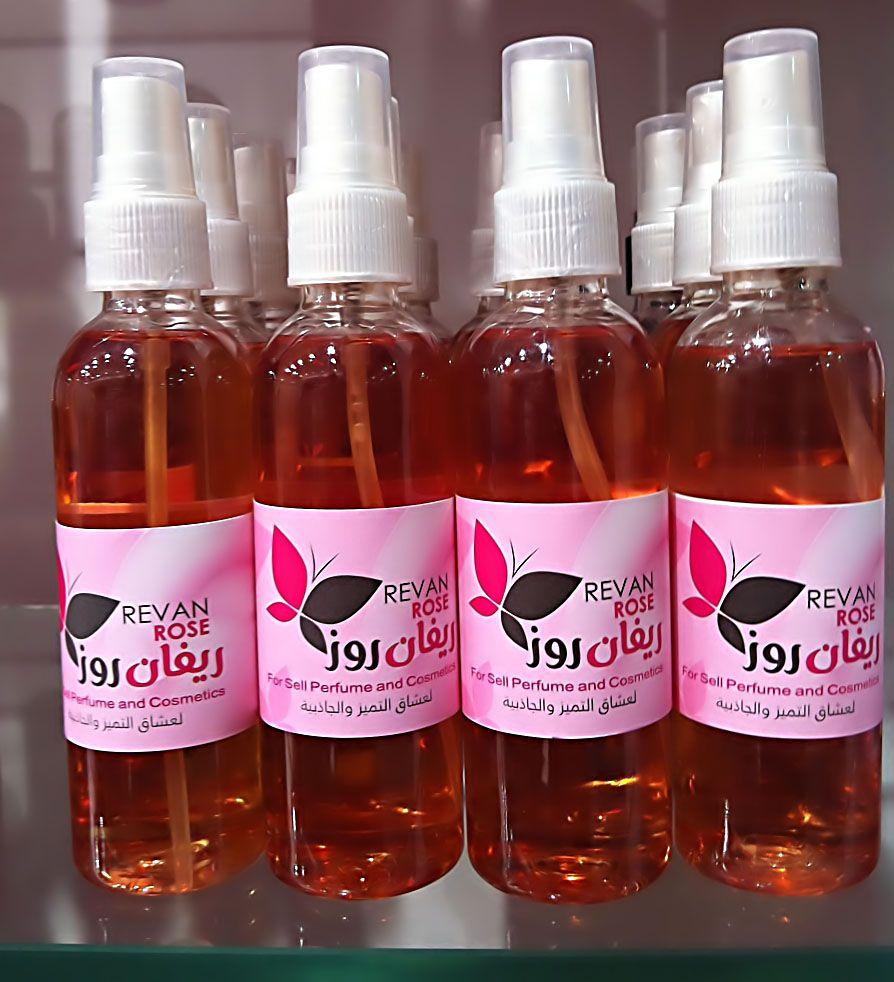 معطر الجسم فانليا بالقولدن Wine Bottle Rose Wine Bottle Bottle