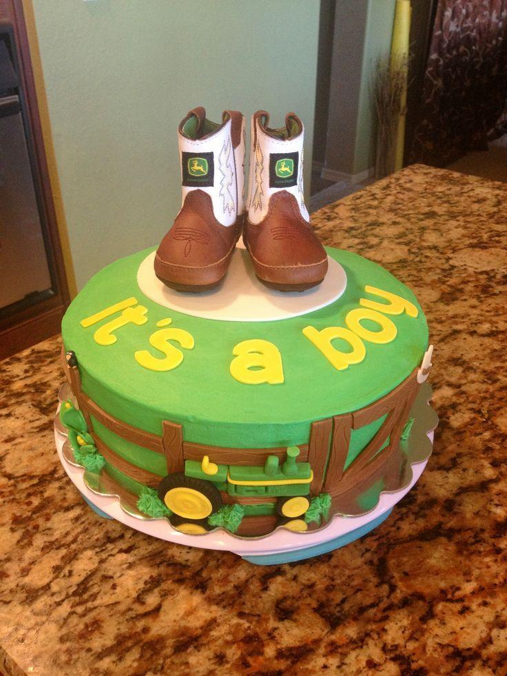 John Deere Baby Shower Supplies John Deere Baby Shower Cake