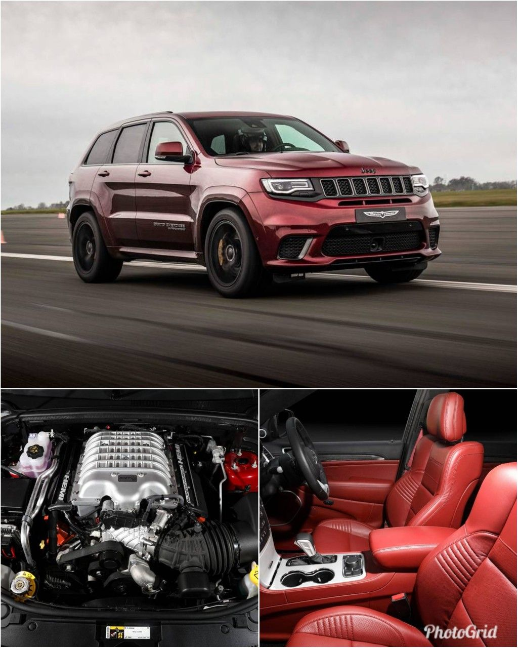 2019 Jeep Grand Cherokee Trackhawk Is The World S Most Powerful