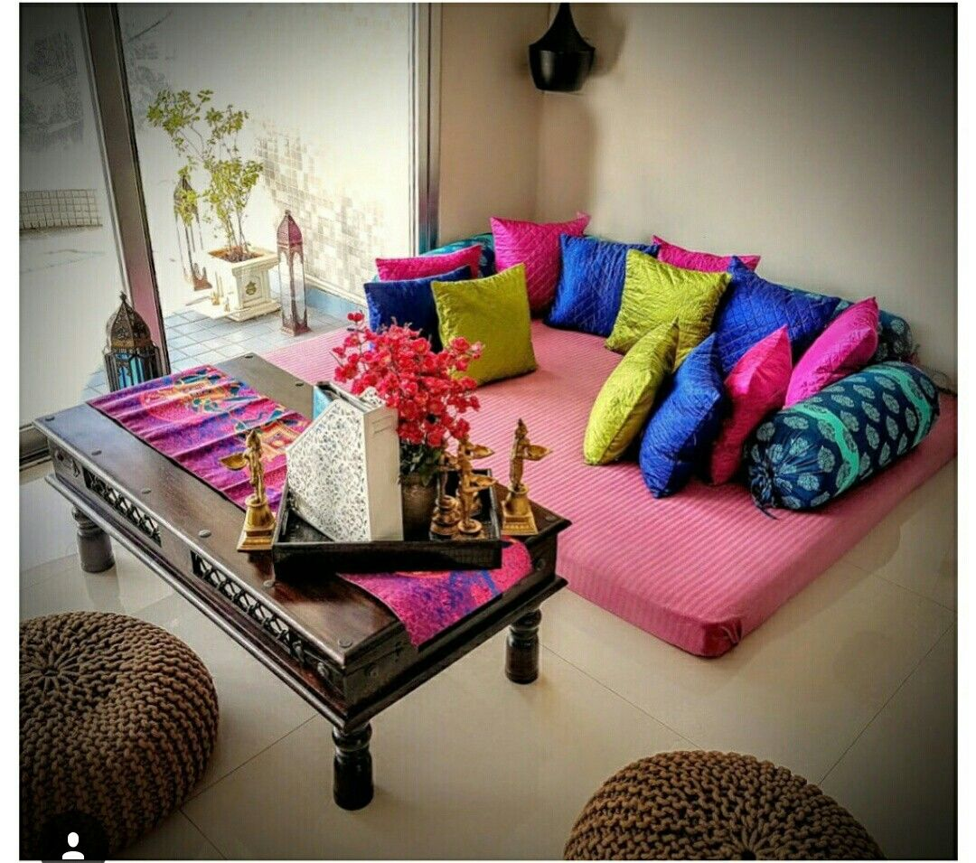 Living Room Mattress India Large Rugs One Corner Of The Den Home Sweet Decor In 2019 Diy Designs