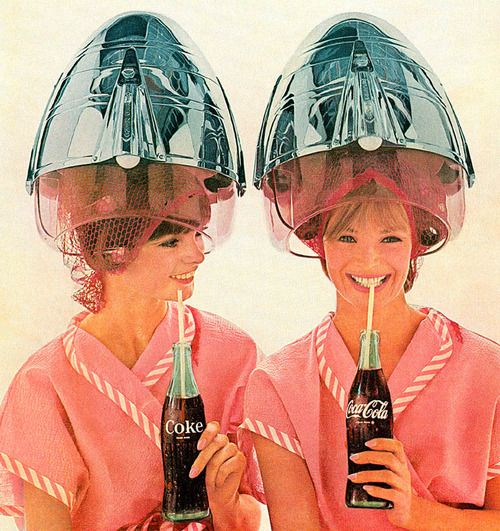 Coke at the salon. Photo from National Geographic.