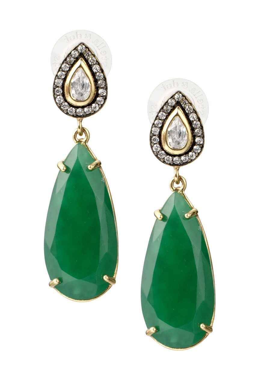 Stella Dot Liz Drop Earrings