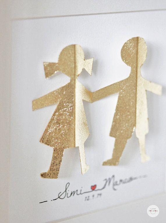 Anniversario Di Matrimonio Regali Per Lui.Regalo Matrimonio Personalizzato Quadro Sposi Regalo Nozze