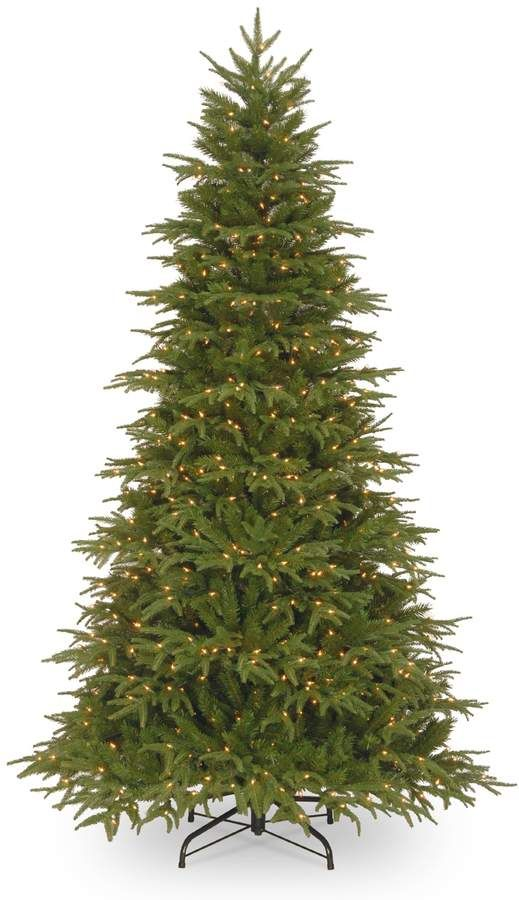Best Pre Lit Artificial Christmas Trees.7 5 Ft Pre Lit Feel Real Northern Frasier Artificial