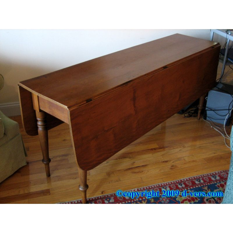 American Furniture Warehouse Gilbert: Drop Leaf Table Original Finish