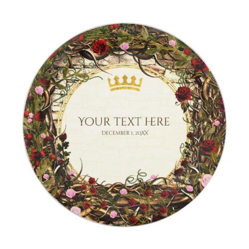 Storybook Princess Vintage Briar Rose Party Paper Plate | Briar rose ...
