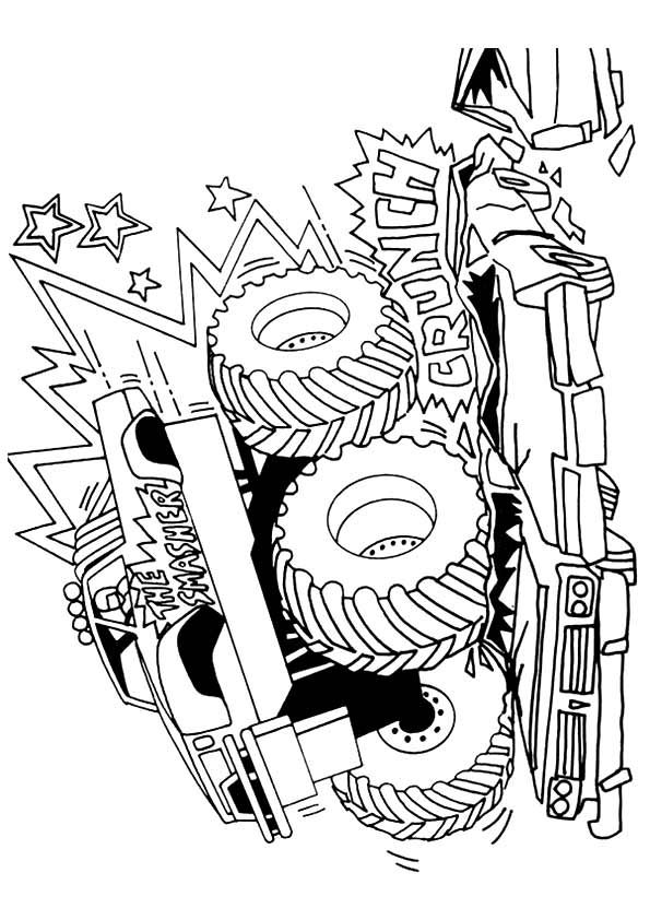 Print Coloring Image Momjunction Monster Truck Coloring Pages Coloring Pages Paw Patrol Coloring
