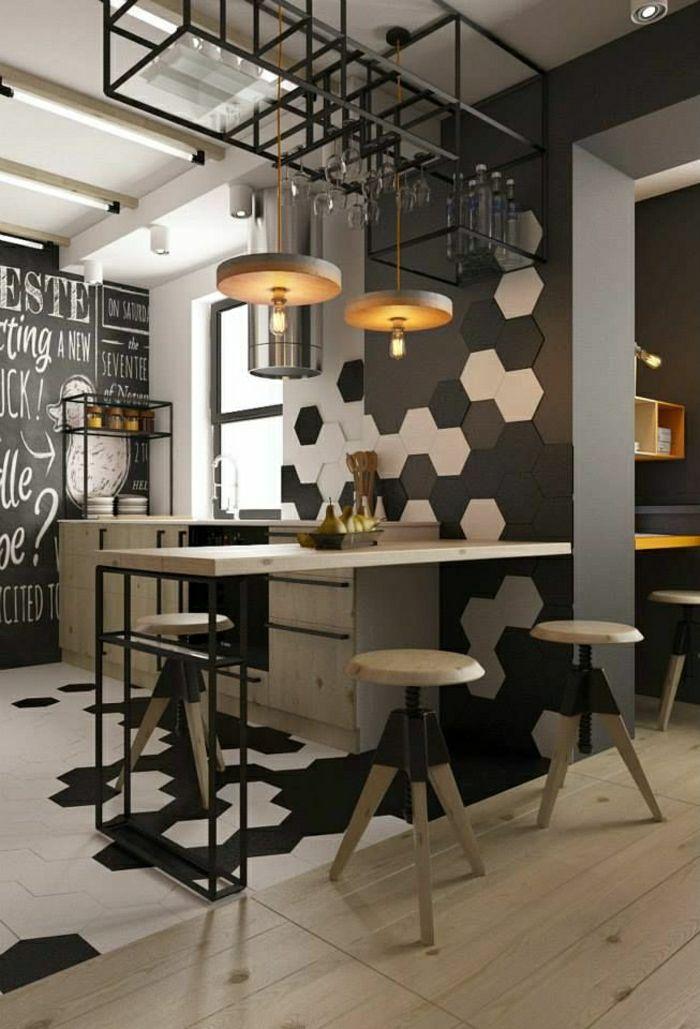 Le carrelage mural en 50 variantes pour vos murs! Architecture - carrelage mur cuisine moderne
