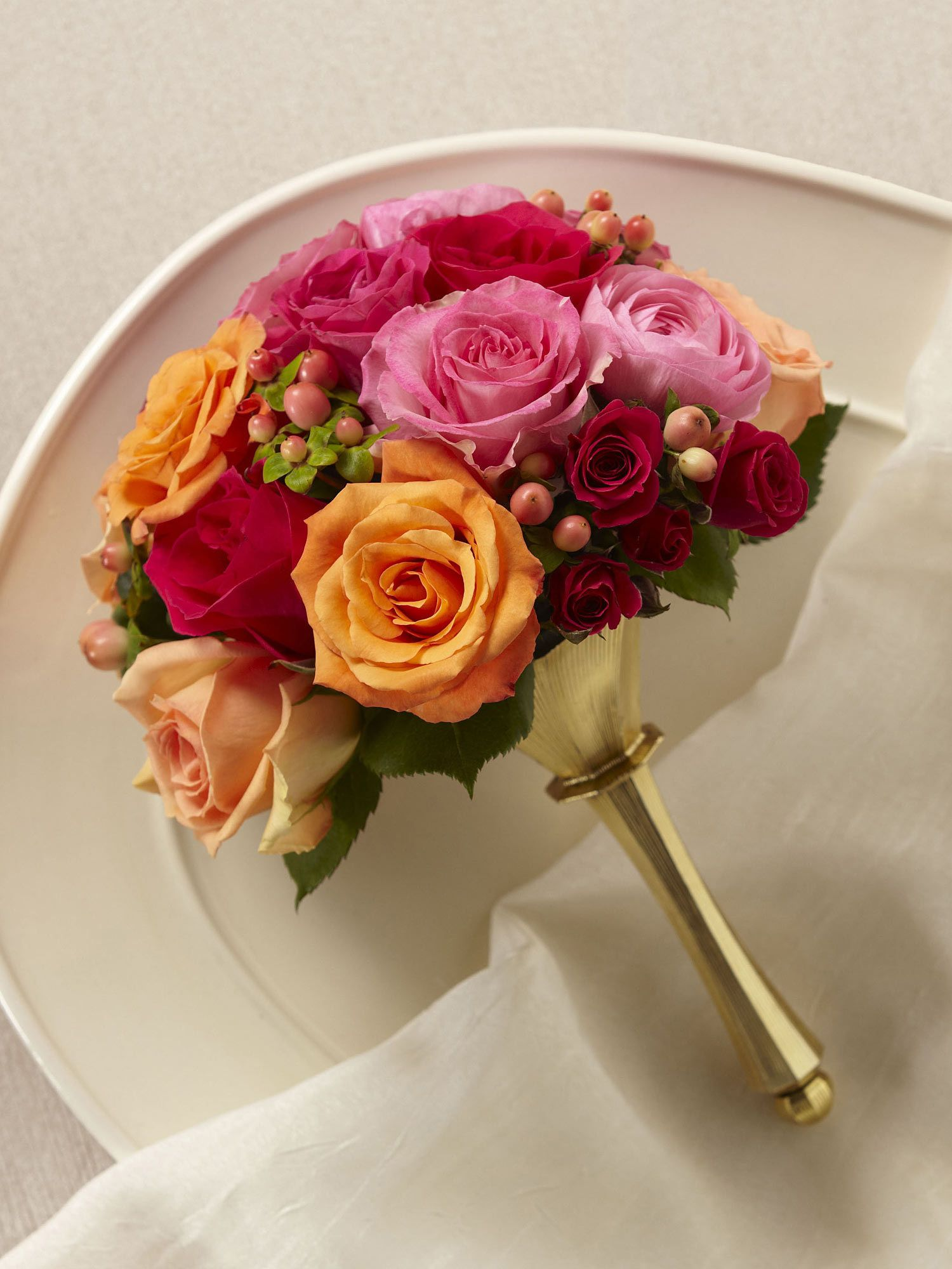 The Bright Promise Bouquet Is A Combination Of Captivating Colour