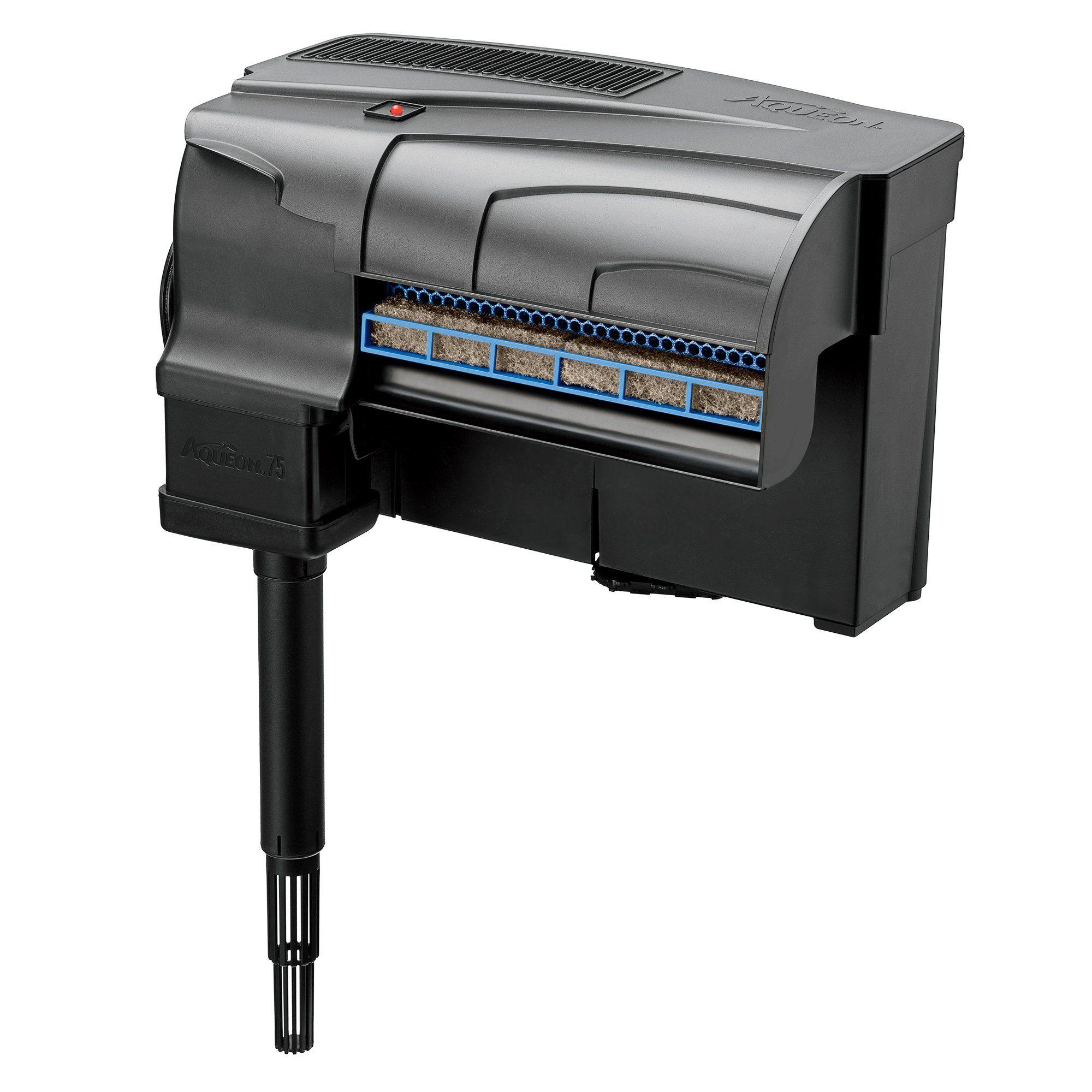 Jardini In A 75 Gallon: Aqueon QuietFlow LED PRO 75 Aquarium Power Filter, 12.75
