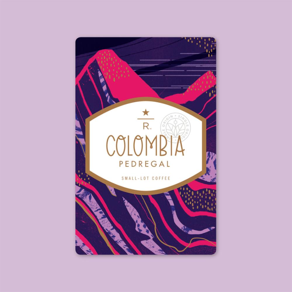 COLOMBIA PEDREGAL Coffee Starbucks Reserve Starbucks