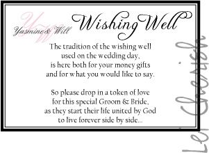 Monetary gift quotes wedding day