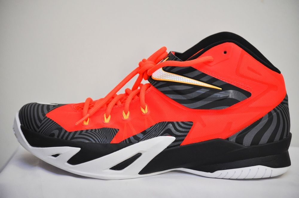 c6607ac3d411 Nike Zoom LeBron Soldier 8 Premium Basketball Shoes Men size 10 NEW  Nike   BasketballShoes
