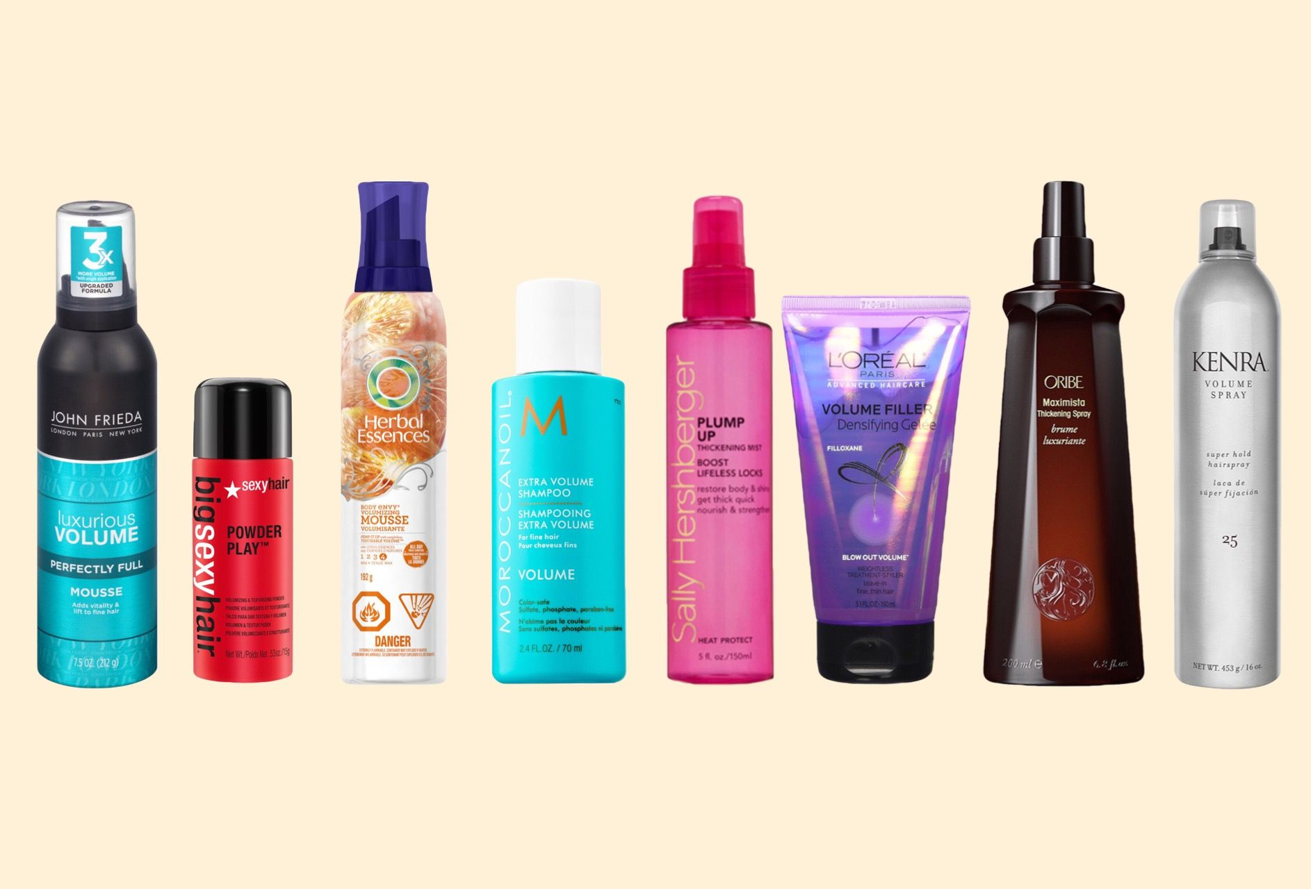 Top 7 Volumizing Hair Products For Fine Hair Volume Hair Hair Mousse Fine Hair