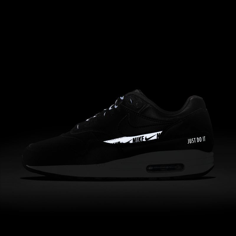 c3a08213869 Nike Air Max 1 SE Overbranded Women s Shoe - Black