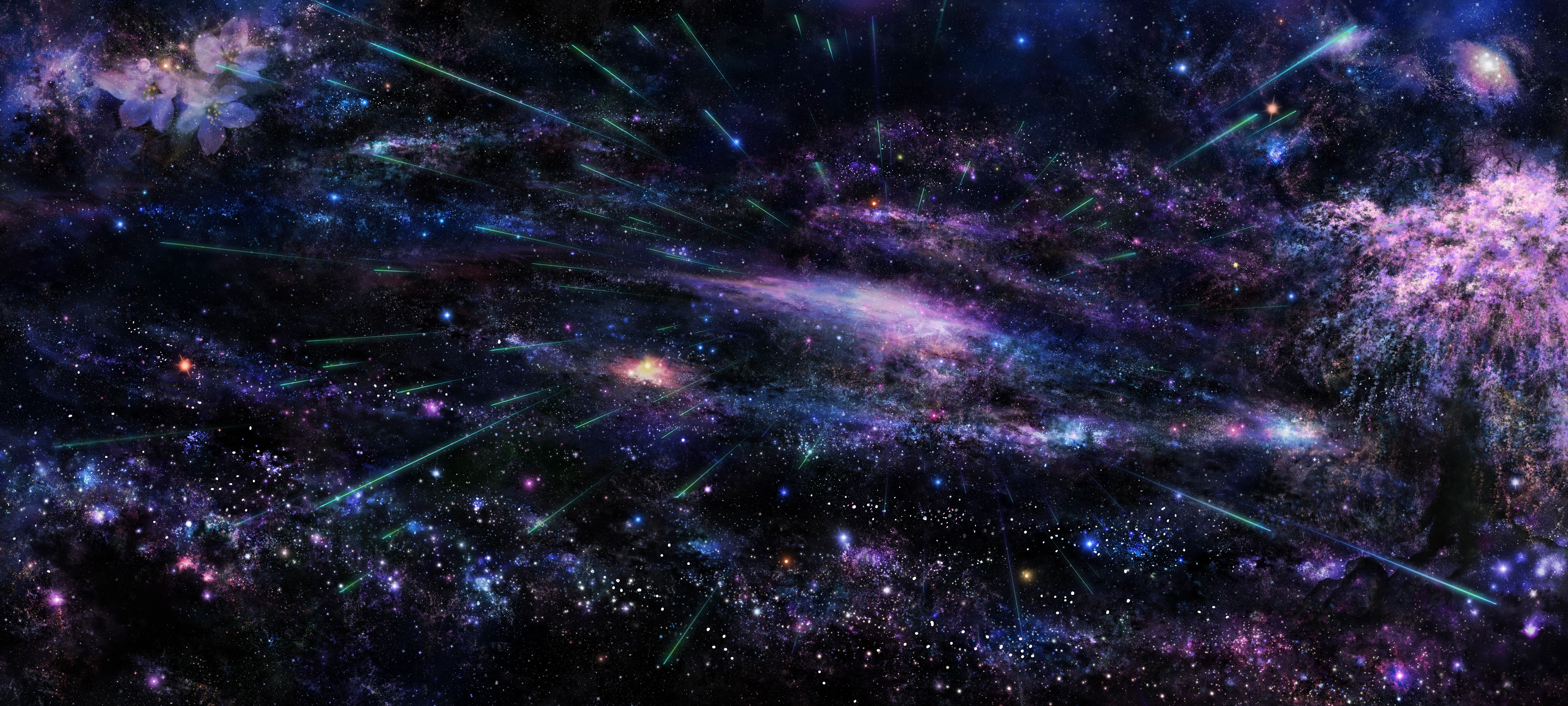 Beautiful Space Stars 5000x2252 Hd Space Wallpaper Space Background Hd Wallpaper