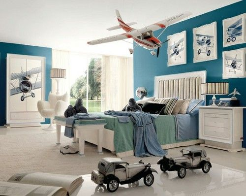 airplanes boys bedroom themes idea | Nursery ideas for B ...