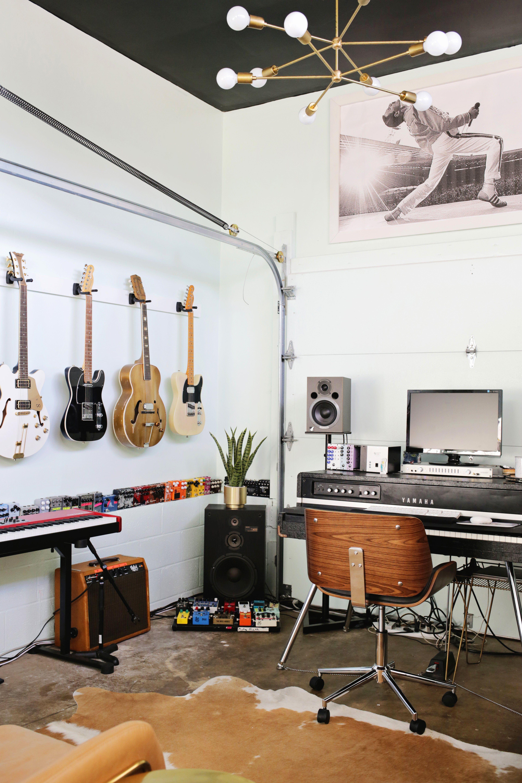 Music Studio Room Design: Todd's Home Studio (Before + After