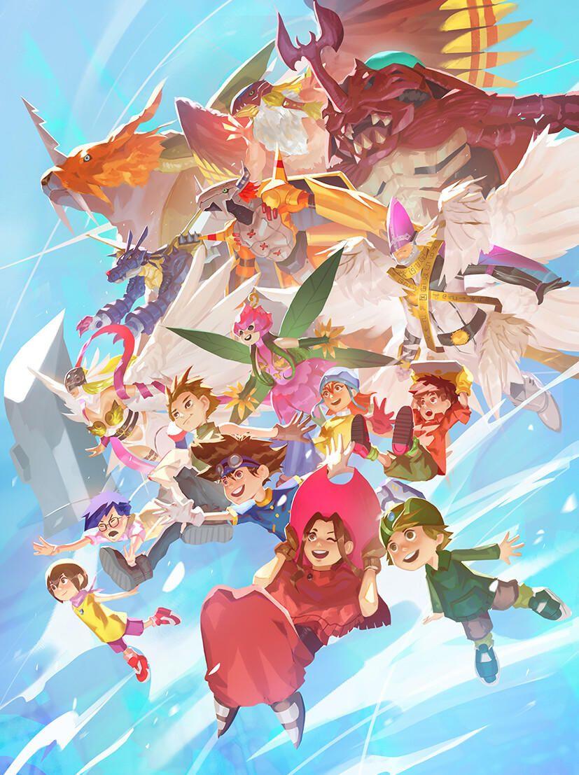 All Together Again Digimon Digimon Adventure Digimon Digital Monsters Digimon
